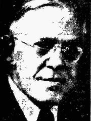 This photo is from a May 7, 1937 Sheboygan Press article about Dr. H.W. Howe, local physician who once flew on the Hindenburg.