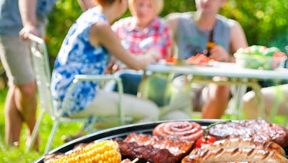 Barbecues are firing up for a celebration with all the fixings. Sure, you want your dishes to be tasty, but they can also be healthy — if you plan wisely.