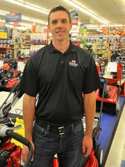 Owner and general manager Jeff Kyhos at Charlie's Hardware store in Mosinee.