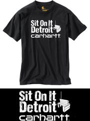 Sit on It Detroit/Carhartt t-shirt