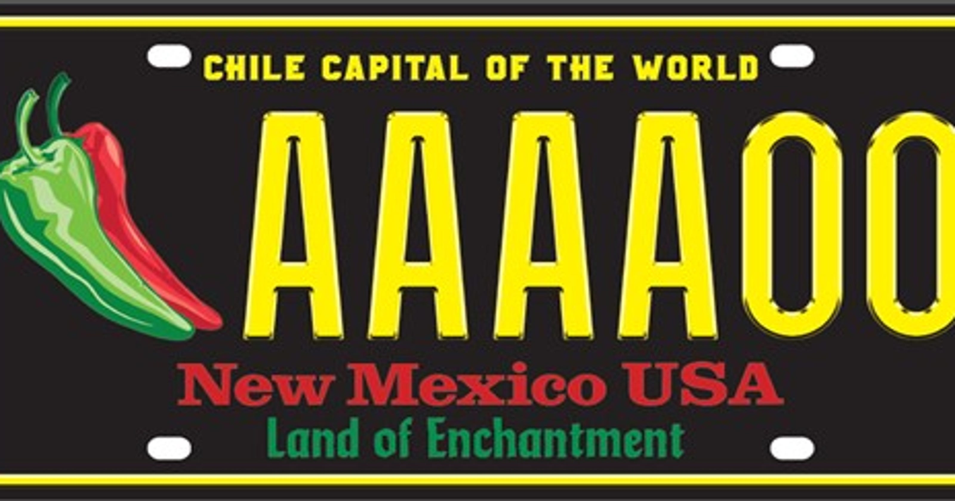 New Mexico Motor Vehicle Division Albuquerque Nm >> Chile License Plates A Popular Order For New Mexico Residents