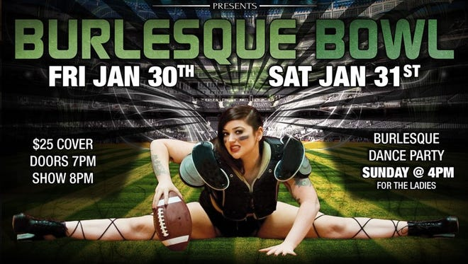 """Burlesque Bowl"" performances will double as launch parties for a new company, Pyrrha Sutra Presents."