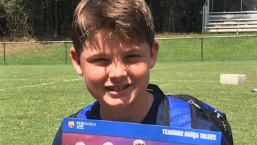 Local soccer player headed to Barcelona tournament
