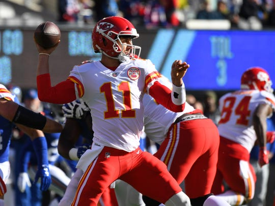 Alex Smith has struggled lately, but he has 18 TD passes to just three interceptions this season.