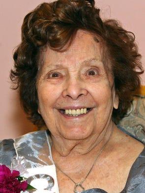 Anna Girandola,100, of Franklin. Born in Italy.