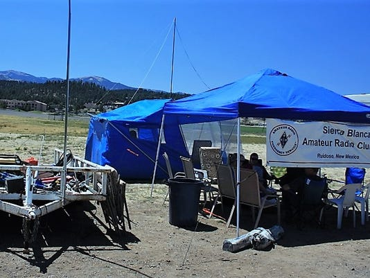 2017 tent ham radio field day