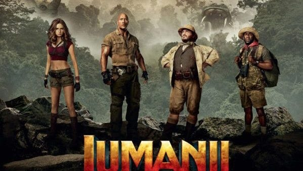 Take a walk on the wild side as the Paula A. Lewis Library presents 'Jumanji: Welcome to the Jungle,'  at 2 p.m., Saturday, April 28, as part of its Movie Matinee.  Photo credit 2: