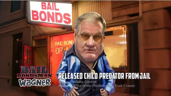 Screen grab from Paul Mango's attack ad featuring Scott Wagner.