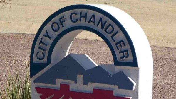 The City of Chandler logo.
