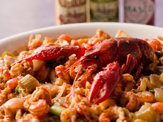 Old Bay Restaurant serves Cajun-Creole fare.