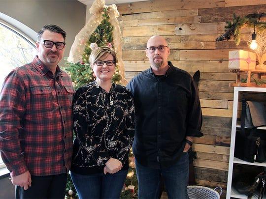 From left, Executive Pastor Dave Davis, Discipleship