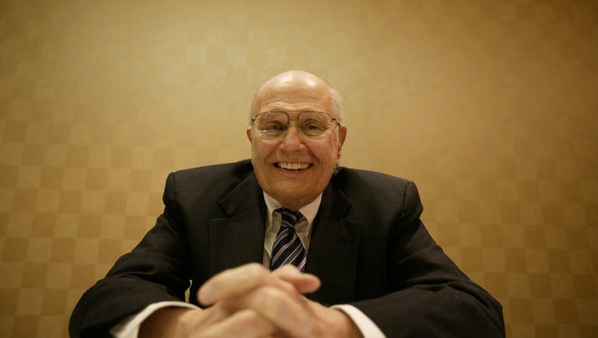 John Dingell, member of Congress, 15th District, poses for a photo at Hyatt Regency Dearborn Hotel in Dearborn, Michigan, Tuesday, January, 18, 2005.