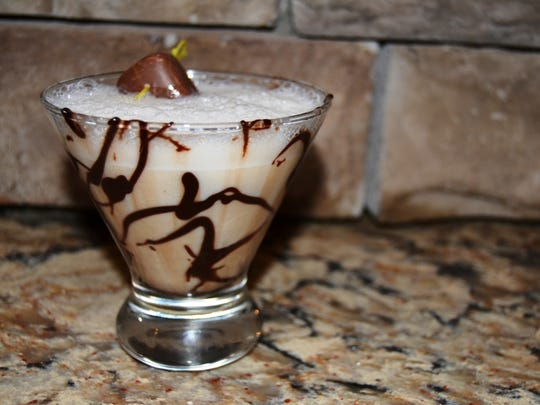 The Milky Way Martini at Stone Grille & Taphouse in