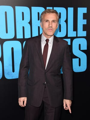 """Actor Christoph Waltz attends the Los Angeles premiere of """"Horrible Bosses 2,"""" on November 20, 2014 at the TCL Chinese Theatre in Hollywood, California.  AFP PHOTO / ROBYN BECK        (Photo credit should read ROBYN BECK/AFP/Getty Images)"""