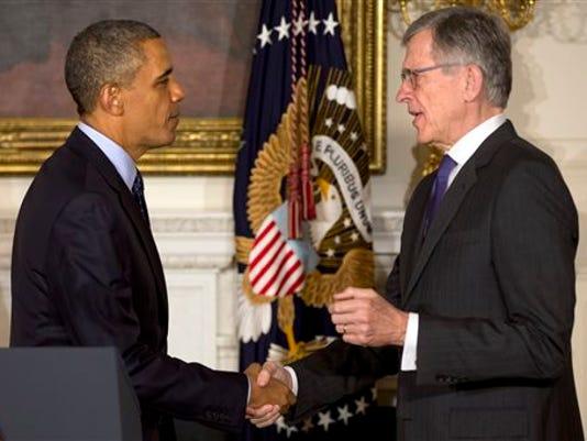 Barack Obama, Tom Wheeler