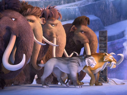 "A still from ""Ice Age: Collision Course."" The movie"