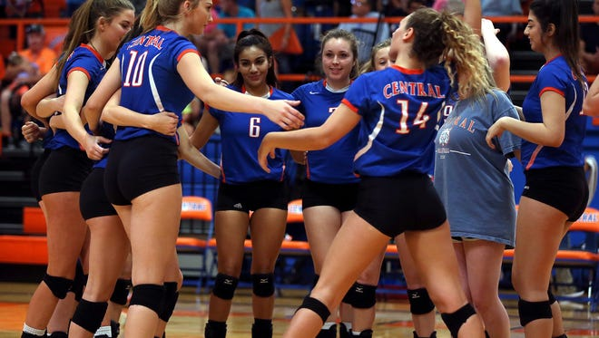 Central High School will play El Paso Montwood Tuesday in the first round of the UIL Class 6A volleyball playoffs.