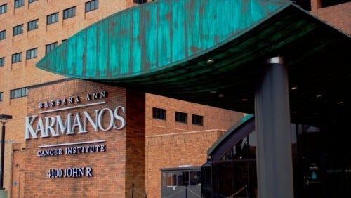 The Karmanos Cancer Center in Detroit.