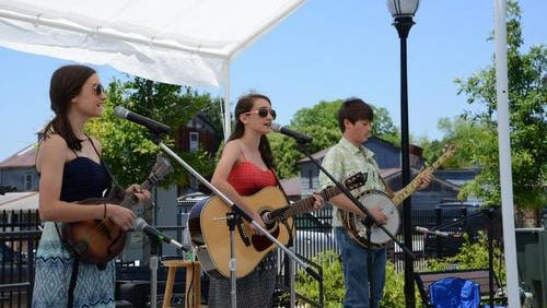 The Fountain Inn Natural Gas Bandstand spring/summer concert series begins Friday at the Commerce Park amphitheater in downtown Fountain Inn.