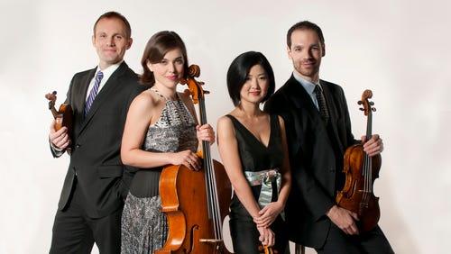 The Jasper String Quartet will perform in St. Cloud.