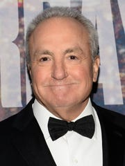 """Lorne Michaels at the """"Saturday Night Live"""" 40th Anniversary Special at Rockefeller Plaza in New York."""