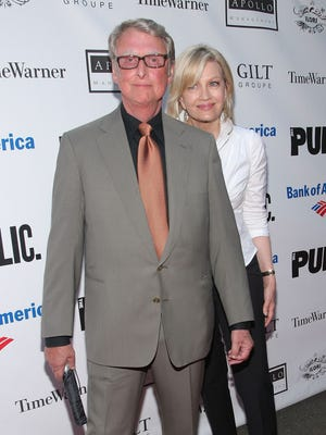 Director Mike Nichols and wife Diane Sawyer in 2009.