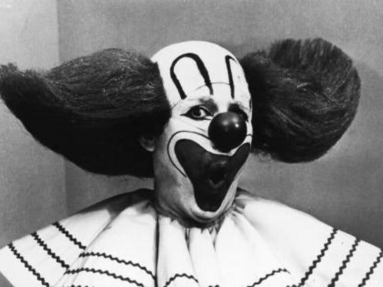 Frank Avruch as Bozo the Clown.