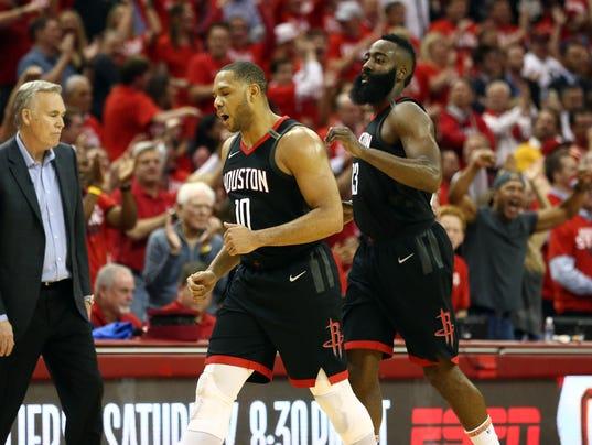 NBA: Playoffs-Golden State Warriors at Houston Rockets