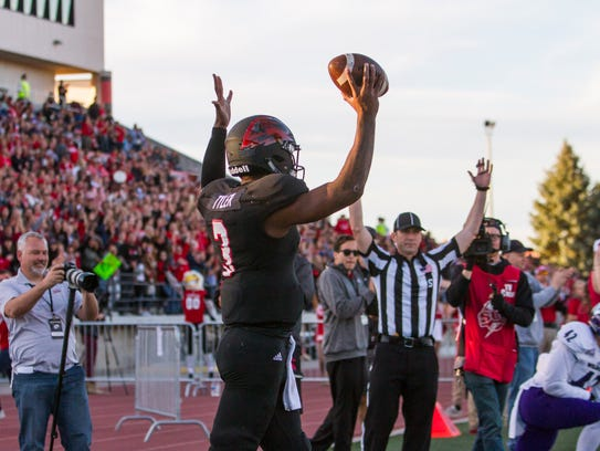 College football: Weber State at Southern Utah in Cedar