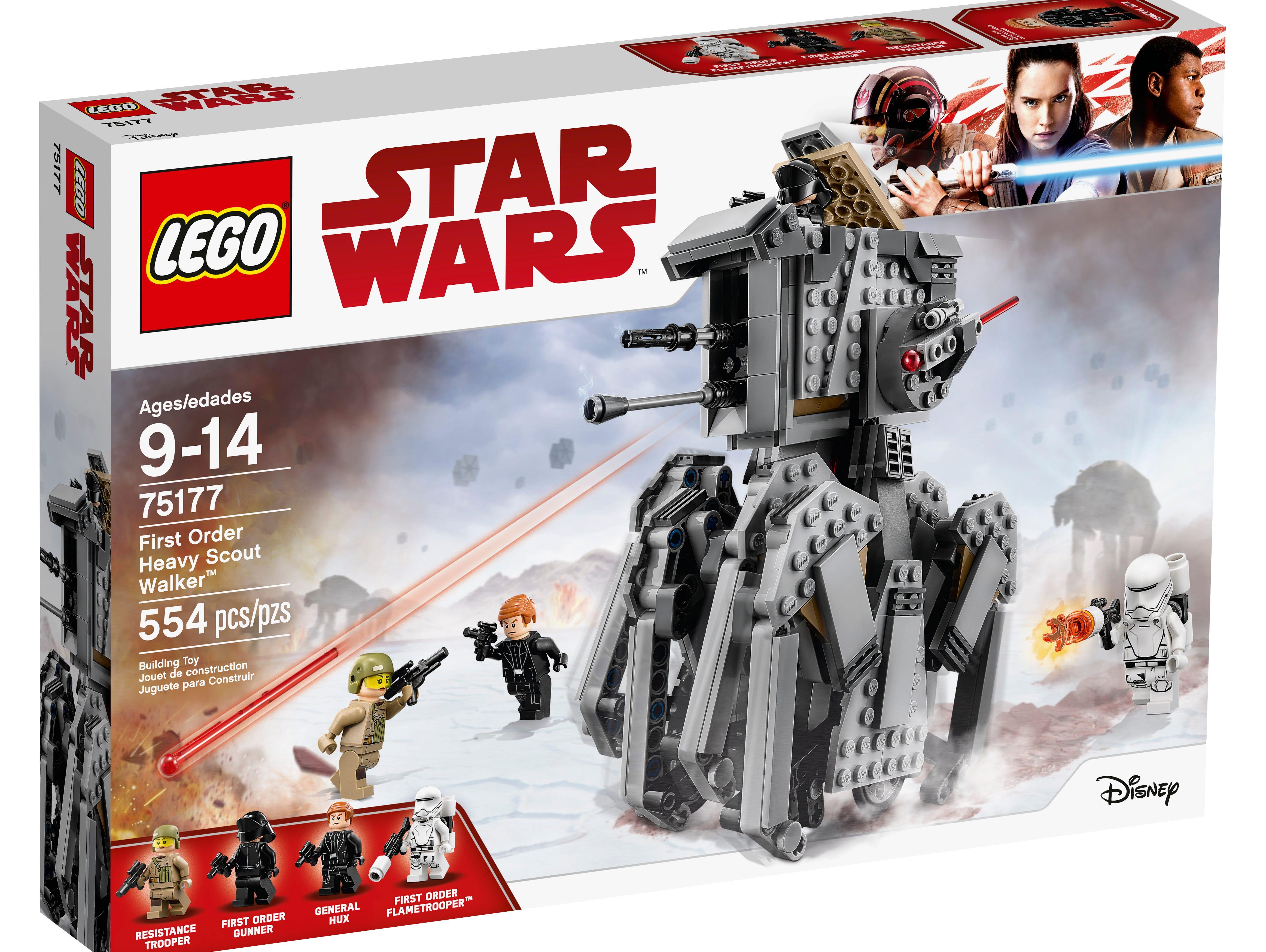 Complete Sets Lego Star Wars Resistance Bomber 75188 75187