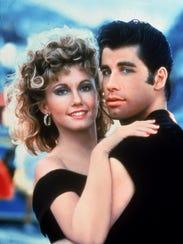 Olivia Newton-John and John Travolta star in the film