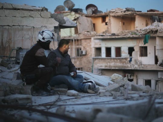 """Last Men in Aleppo,"" one of this year's Oscar nominees for best documentary feature, is showing at the Milwaukee Muslim Film Festival."