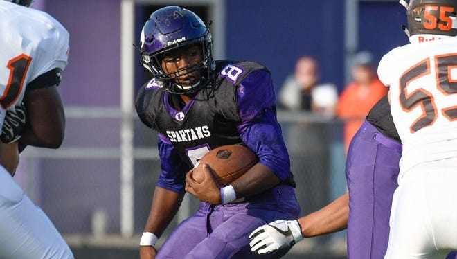 Jalen Watkins and the Lakeview Spartans will open the 2018 season at home vs. Niles at 7 p.m. Thursday.