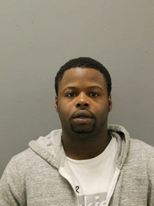 Kevin Collins, 25, was charged with unlawful use of a weapon, felony possession of a firearm with a defaced serial number, and six misdemeanor counts of endangerment of a child the day after his son, Kavan, accidentally shot himself with a firearm at the family's home on the Chicago's South Side. It's the second time in about 18 months that his five-year-old boy has been wounded in a shooting.