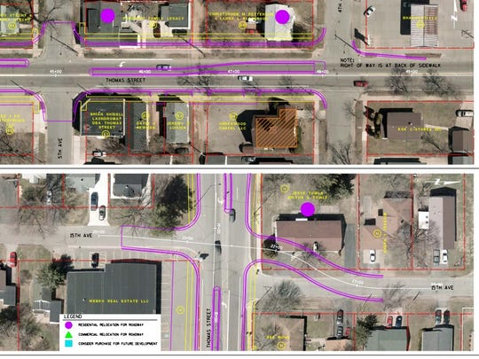 The Wausau City Council approved a plan for some changes to Thomas Street on Oct. 27, 2015.