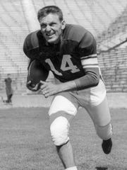 Lynn Chandnois, All-American (1949) running back, drafted