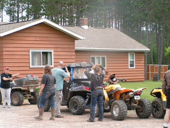 The Harrison Hills ATV Club, which meets the fourth
