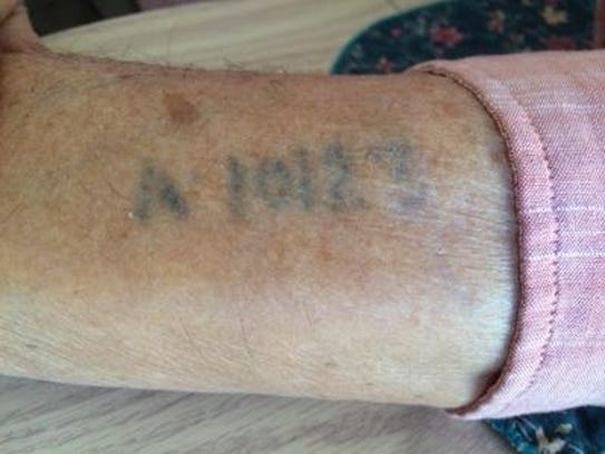 Edward Heisler's arm bore the tattoo that identified
