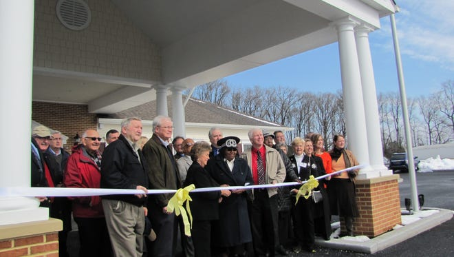 A ribbon cutting was held to celebrate the opening of the new CHEER Center facility in Milton.