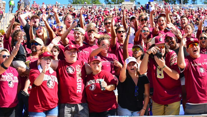 Despite a rough start to the season, students and fans alike still standing strong with Florida State football team.