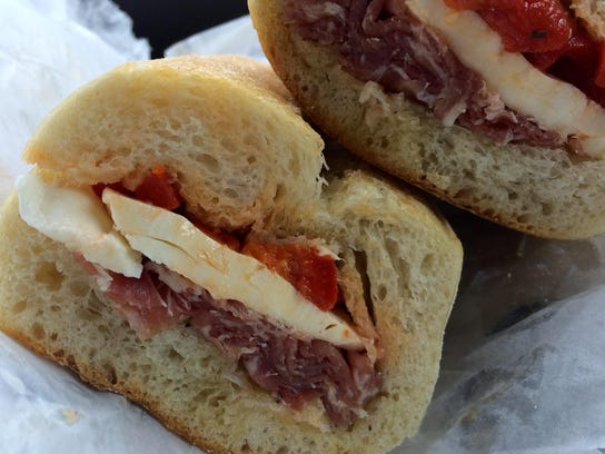The Godfather from Mario's Italian Meat Market in south Fort Myers.