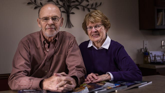 Lee and Elaine Martin help adults with literacy problems with Literacy Education Services Inc.