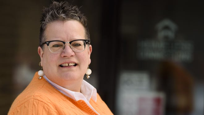 Neenah's Michelle Schramm has been volunteering for a decade with Homeless Connections in Appleton.