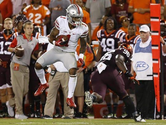 NCAA Football: Ohio State at Virginia Tech