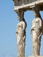 A Greece package tour offered by Gate1 Travel visits