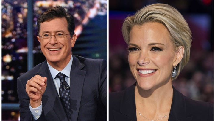 Stephen Colbert just booked Megyn Kelly for his post-Super Bowl 'Late Show.'