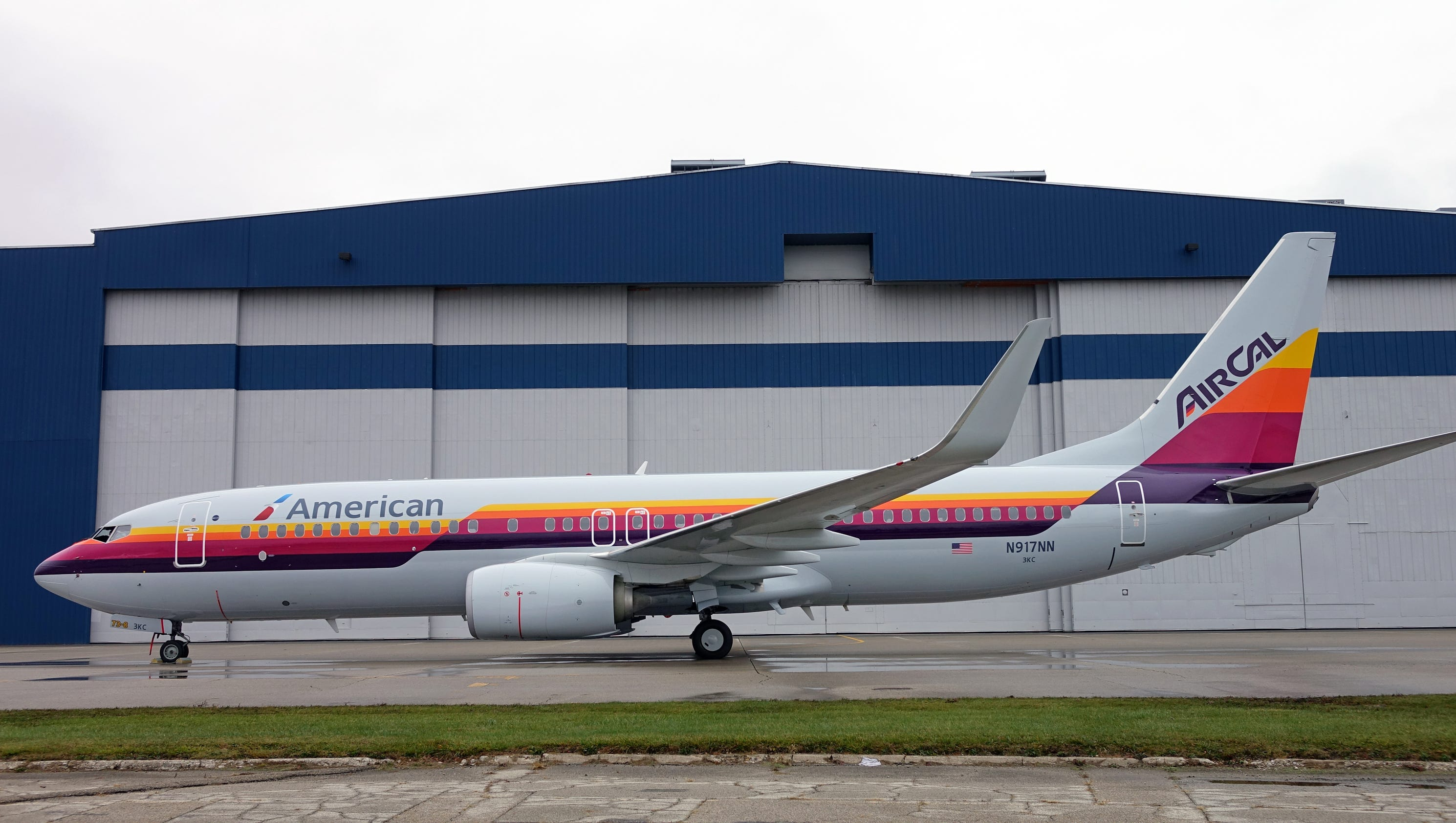 Old American Eagle Airline Paint Jobs