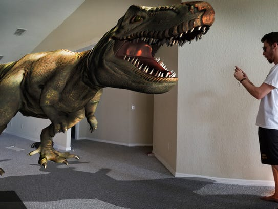 """A publicity image for """"Augmented Reality,"""" a new exhibit"""