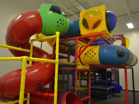 An indoor play area will be available to kids off the front gathering space at the new Life Church in De Pere.