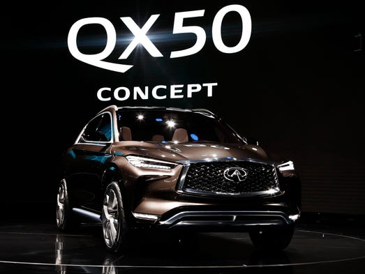 The QX50 concept at the North American International